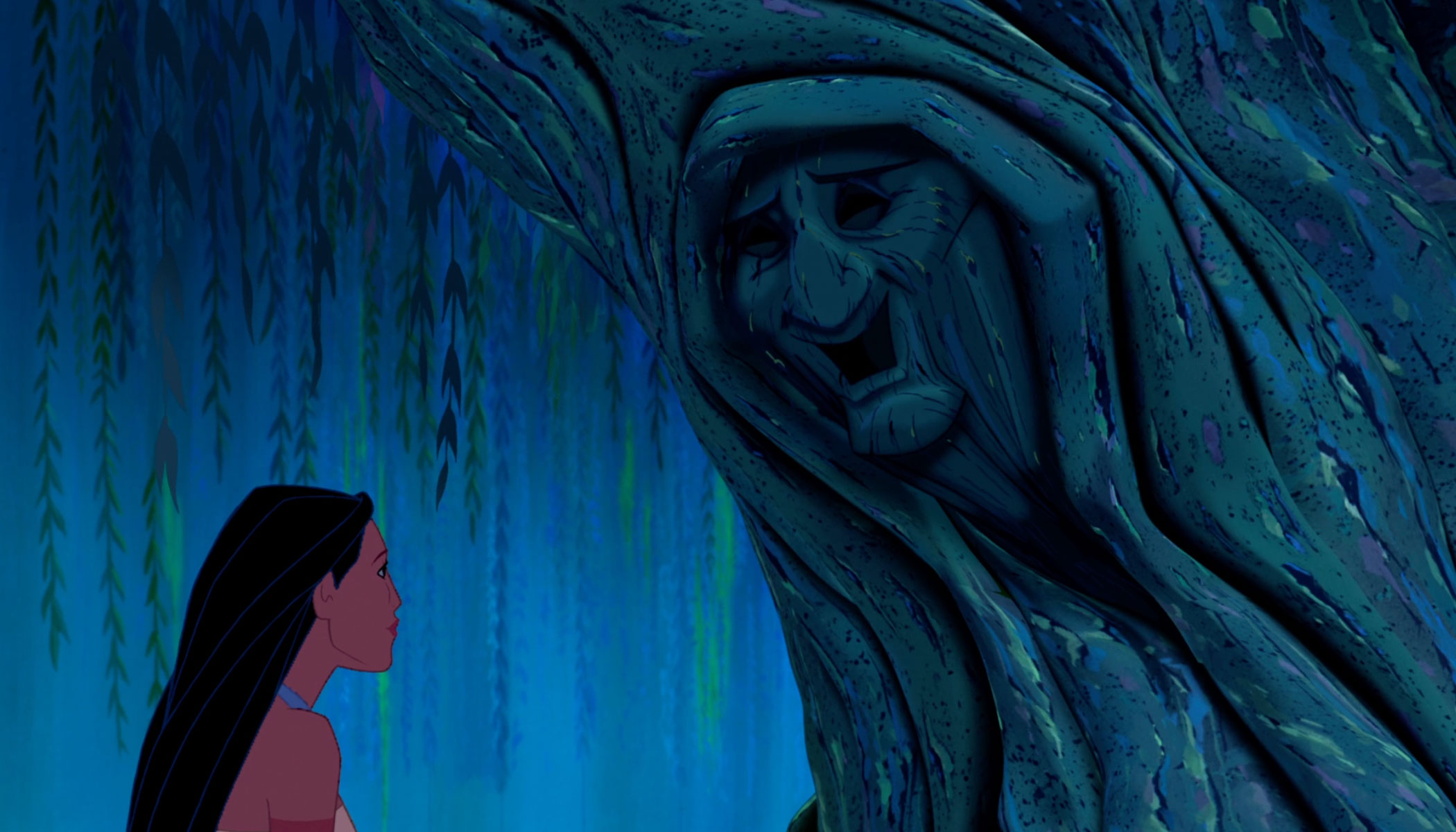 Pocahontas and Grandmother Willow