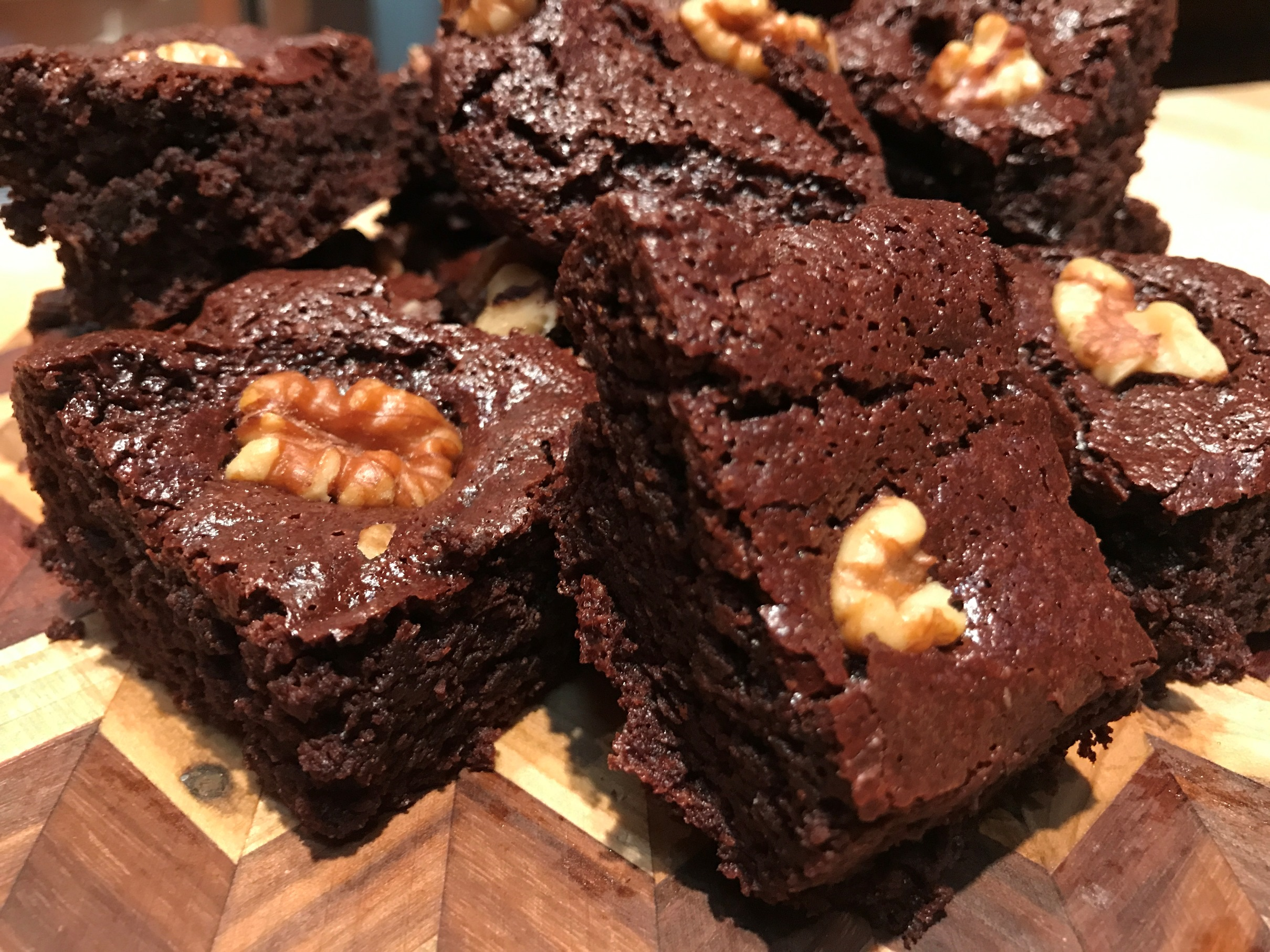 Small-Batch Gluten-Free Mocha Brownies